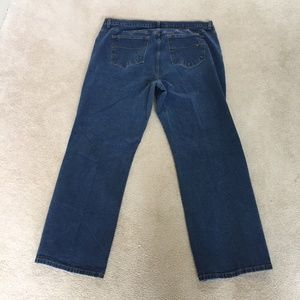 Lane Bryant Venezia Stretch Flare Jeans 24 Average